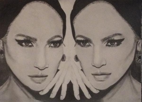 Jennifer Lopez by Swan
